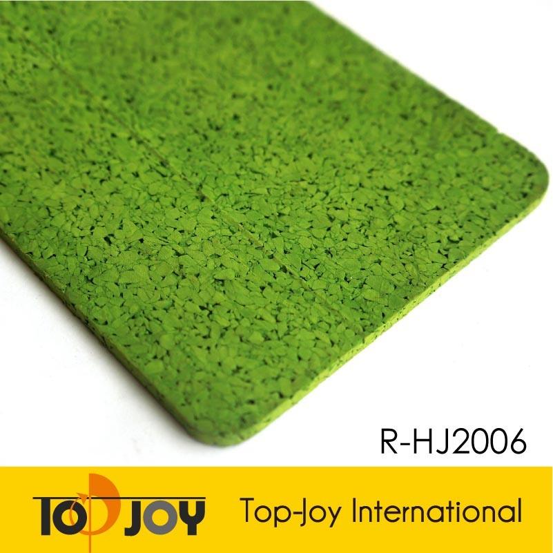 Absorción de golpes alfombras pisos de caucho EPDM de color (RF-2100)
