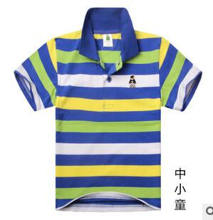 子供用ポロシャツ、子供用ガーメント、コットンポロシャツ