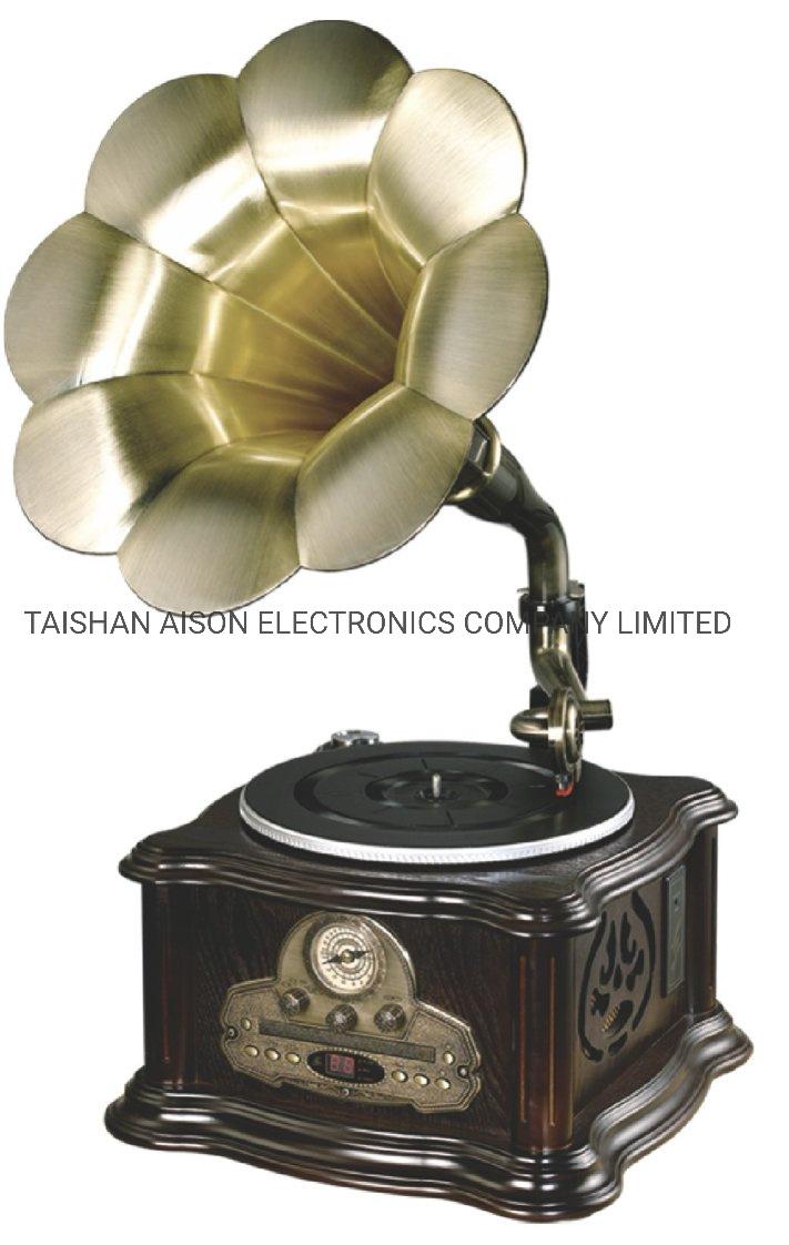 Usb Flash Music Player Souvenir Souvenir Decorazione Gramophone