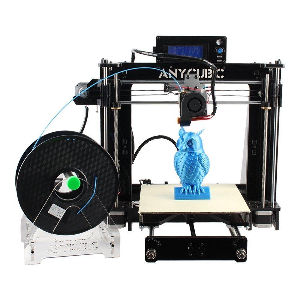 Haute précision Prusa JE3 3D'Imprimante de Bureau d'auto assemblage de pièces de l'imprimante de table de bricolage avec carte SD et filament