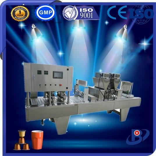 2016 Nieuwe het Vullen van de Capsule van de Koffie Nespresso van de Stijl Automatische Verzegelende Machine