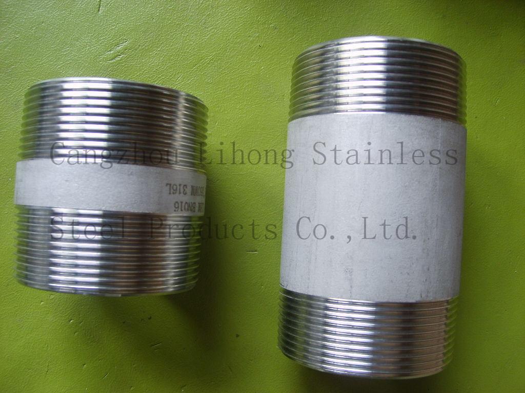 Nippli per tubi in acciaio inox 316L BSP