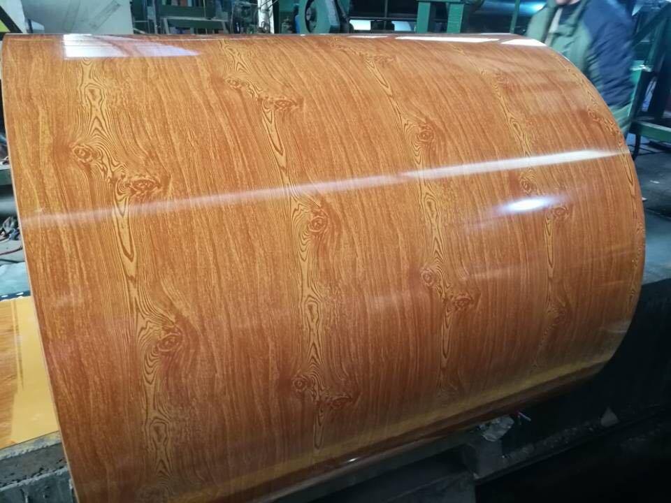 木のPrepainted電流を通された鋼鉄コイル