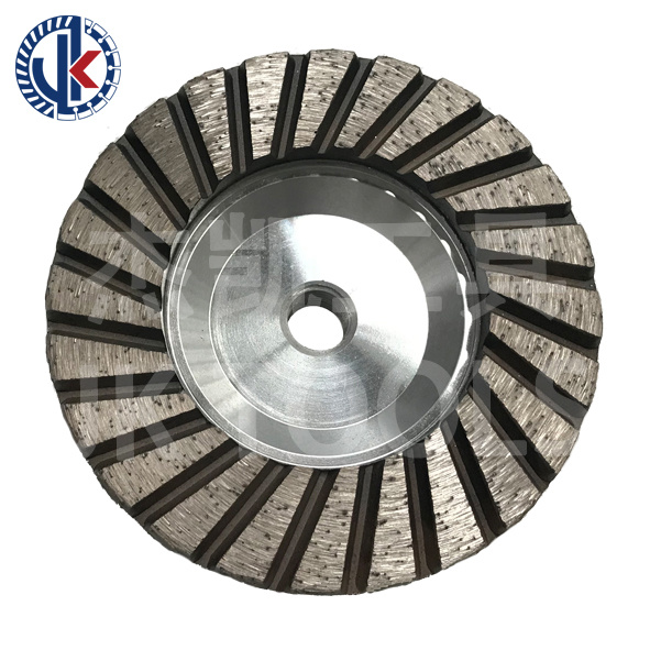 مادّة كاشطة 4 '' [م14] [100مّ] [ألومينوم] & حديد جسم حجارة صوان فنجان عجلة