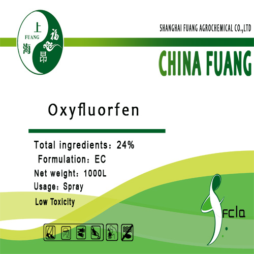 농약 제초제 (CAS 아니오: 42874-03-3) Oxyfluorfen 24%Ec