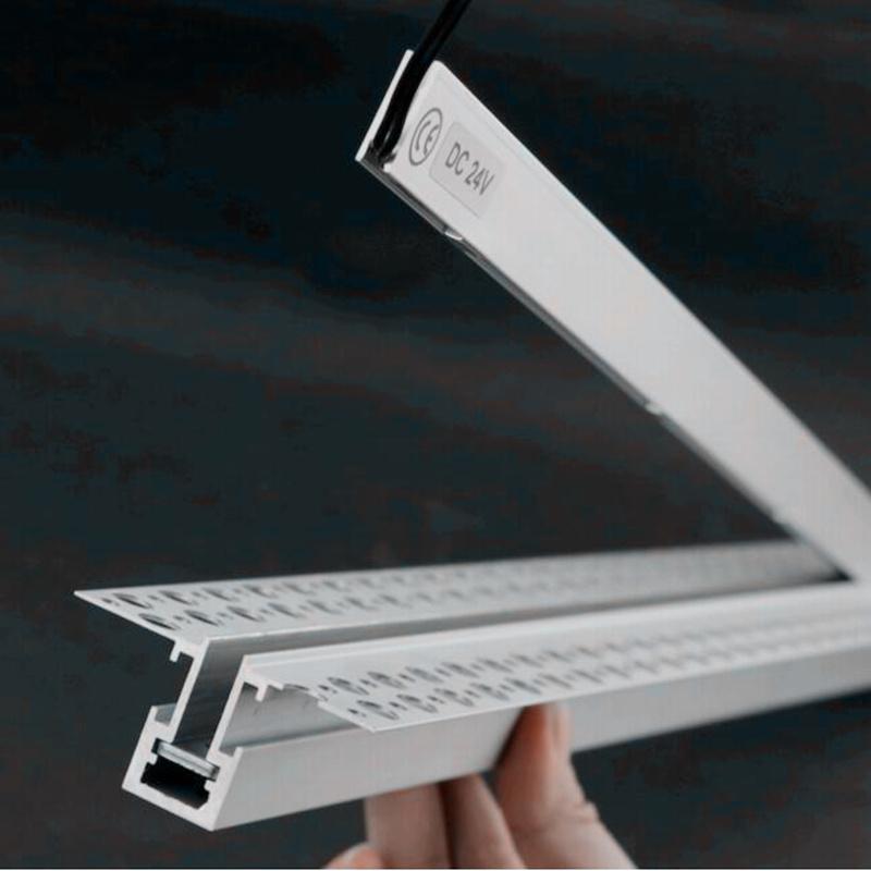 de ancho de LL1906 LED Perfil Super Foto Slim 6mm de IP44 tQhrsd