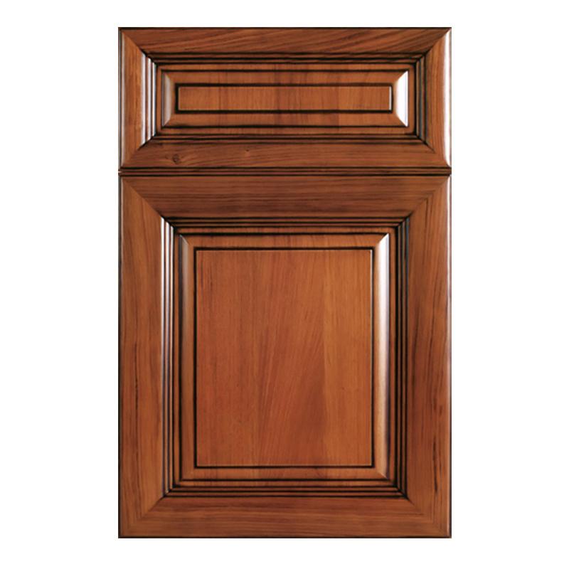 Madeira moderno mobiliário de cozinha pequena porta do armário de cozinha (YH-CD4025)