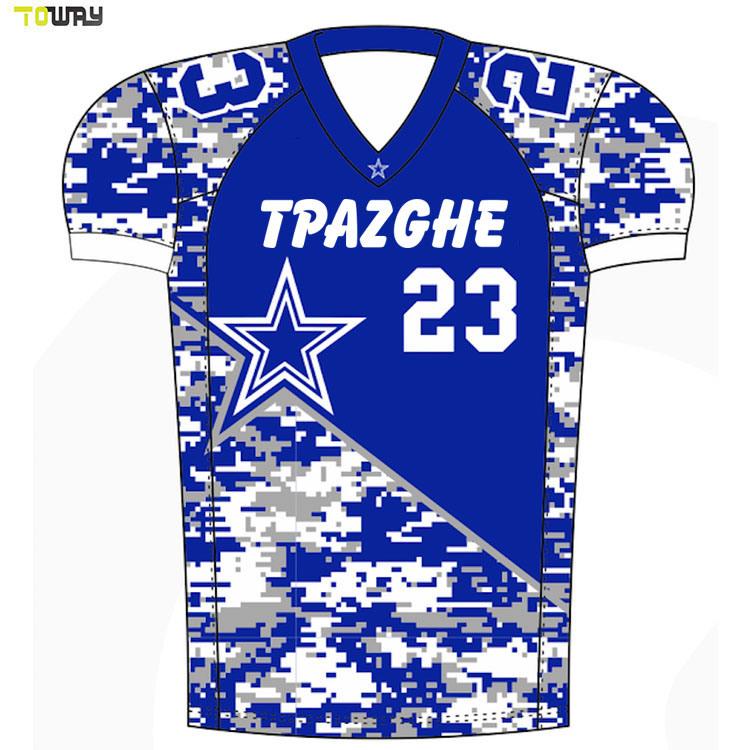 Groothandel Custom Sublimeerde American Football Uniforms Voor Teams