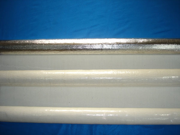 Dustless pano de amianto com alumínio