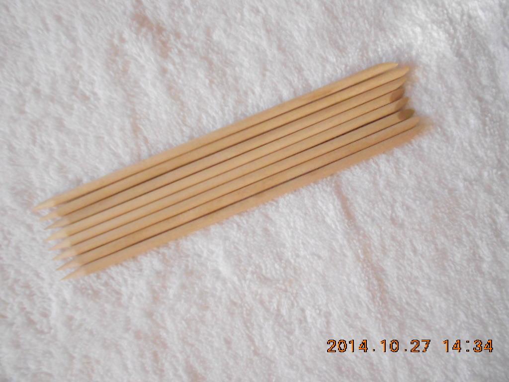 Bastoni del manicure di legno di betulla