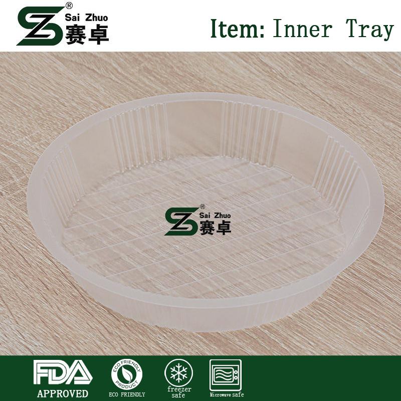 Qualitäts-inneres Tellersegment-Plastiknahrungsmittelspeicher-Filterglocke für Mann-Nahrungsmittelbehälter Bento Mittagessen-Kasten