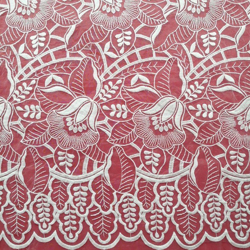 С вышивкой производителя высокого качества питания тюль вышивка