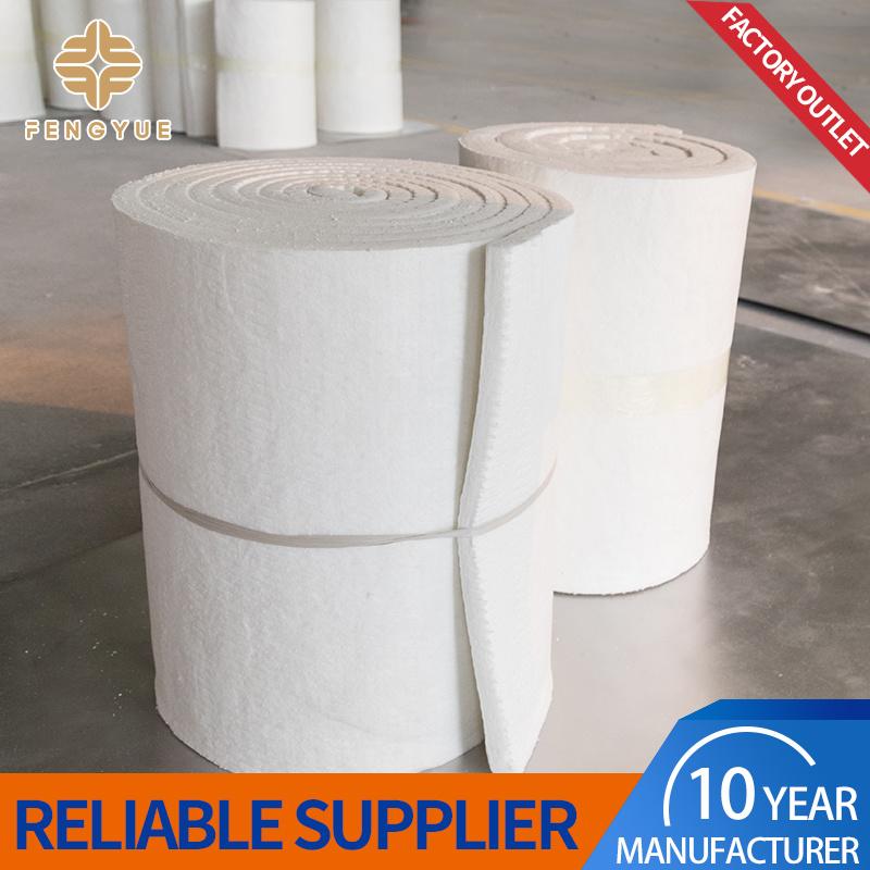 El silicato de alúmina refractarios manta de fibra cerámica para calentar el horno