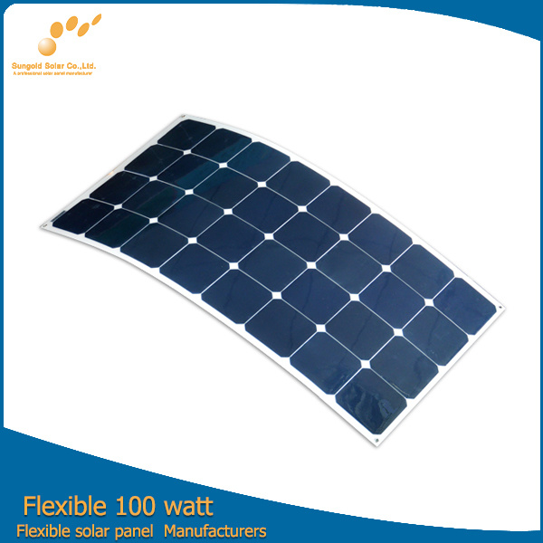 2016 hot panneau solaire 100w souple de la chine directement en usine 2016 hot panneau solaire. Black Bedroom Furniture Sets. Home Design Ideas