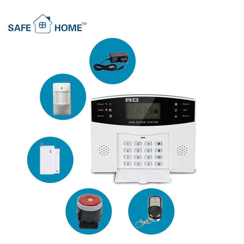 Impianto antifurto senza fili collegato di obbligazione di GSM per ...