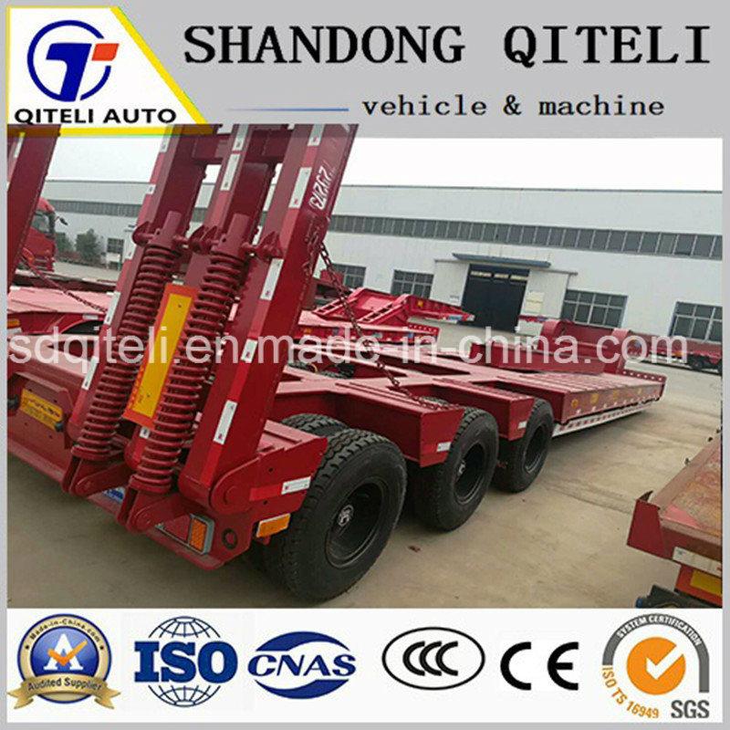 40T-60T низкий орган Полуприцепе грузового прицепа используется для транспортировки тяжелого оборудования и груза