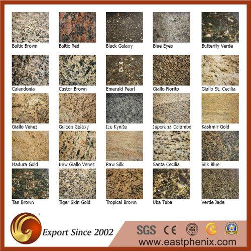 Granito naturale del materiale da costruzione mattonelle for Materiale per mattonelle