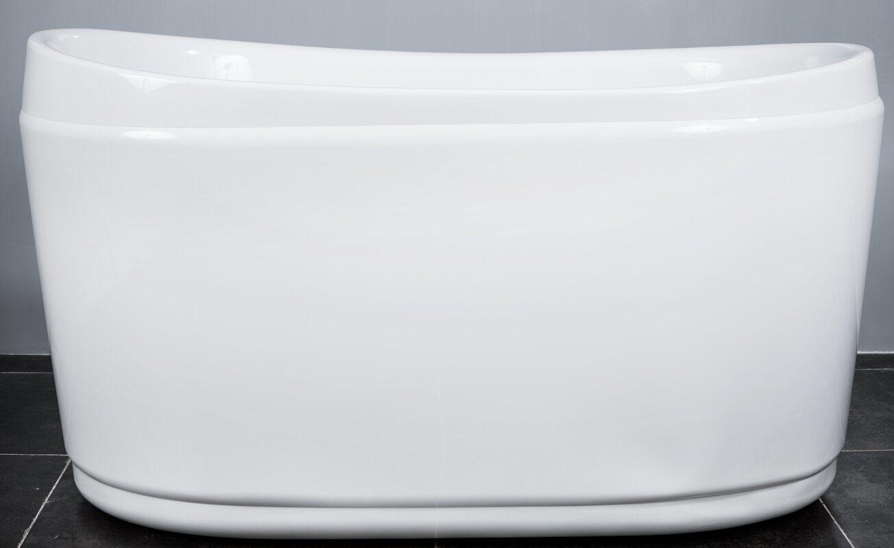 Vasca Da Bagno Mini : Vasca da bagno ovale dellacrilico di figura della mini piccola