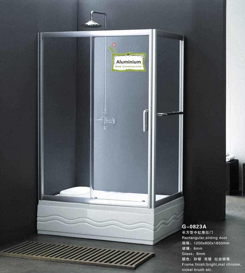 Salle de douche en aluminium (G-0B23A)