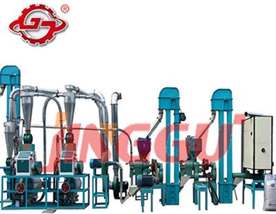 5-10t/Dトウモロコシかコーンフラワーの製粉装置(6FYDT-10)