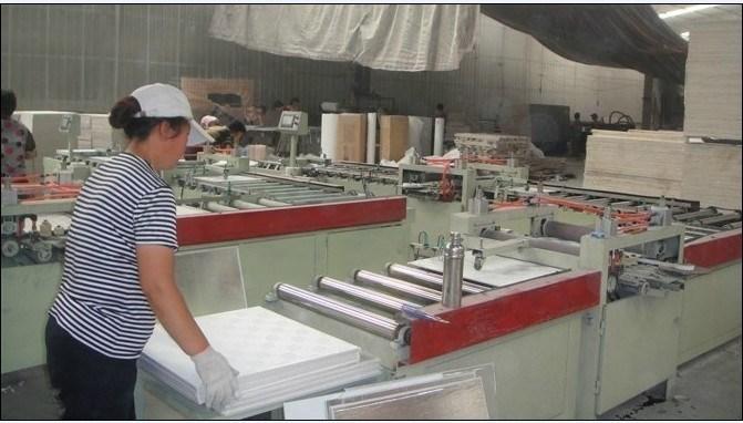 石膏ボードポリ塩化ビニールのラミネーション機械(PVCM-005)