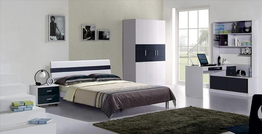 China-Hersteller-modernes Haupthotel-Möbel-Schwarz-hohe Glanz ...