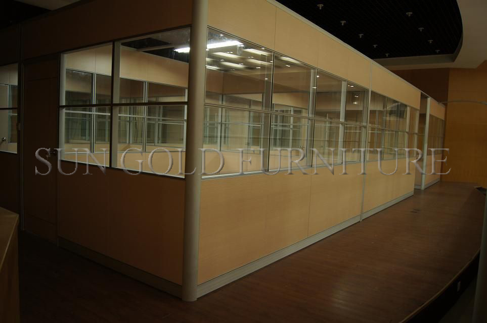 Tipi di vetro moderni della scheda mezza dell ufficio di muri