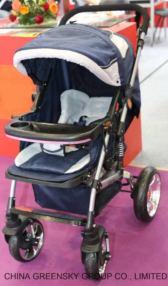 661 mit Rubber Wheel Baby Spaziergänger