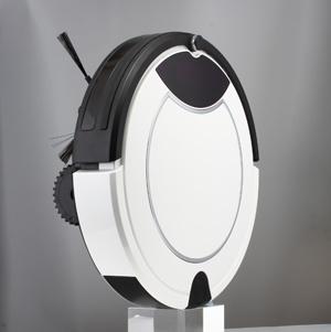 Mode d'appareils ménagers Matériau ABS rouge humides et secs Intelligent automatique Aspirateur Robot