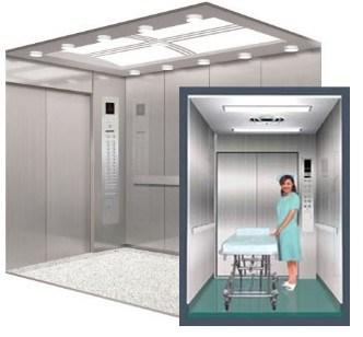 مصعد/مصعد سرير المستشفى
