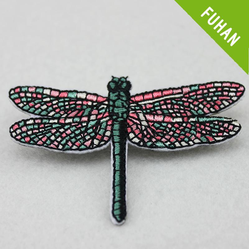 Foto de El patrón de la libélula parche bordado en 3D para las ...