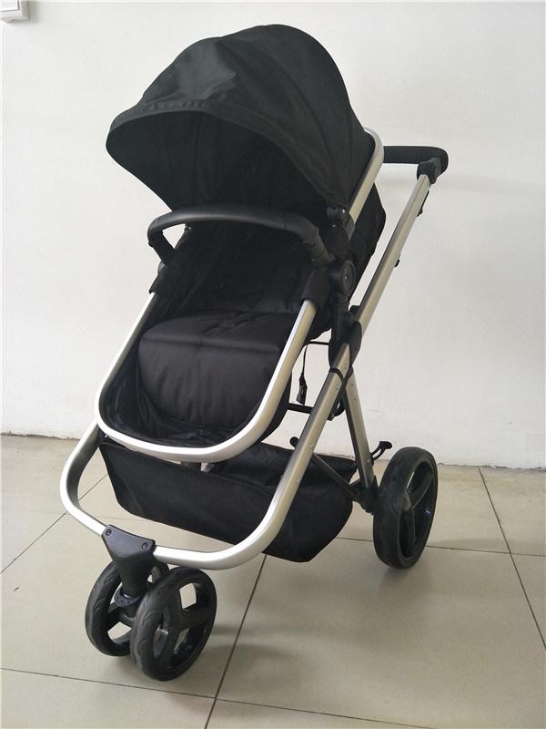 Детский сшивания скобками 3 колес легкий алюминиевый Stroller Trolly Слинге большой сиденье Nb-BS799
