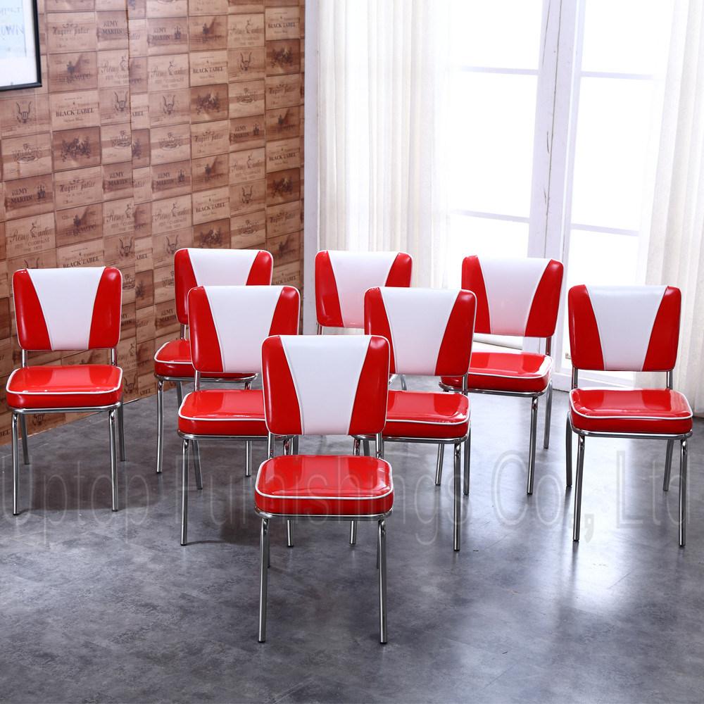 Pour Américain Chaise De Les À Table 50s Salle Manger Style uTiOkXPZ