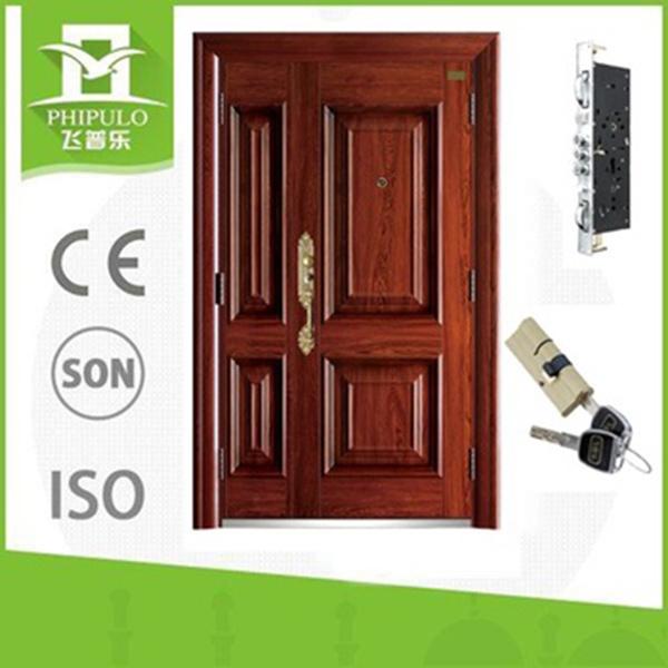 Las puertas de seguridad para el hogar Puertas de acero de seguridad residencial