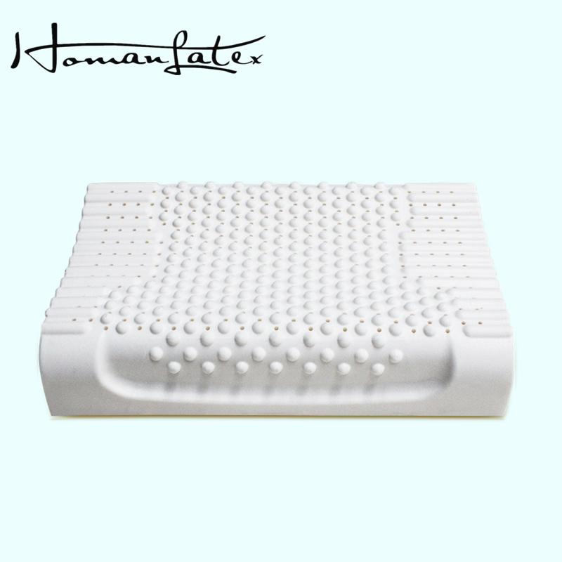 Hohe Beweglichkeit-mittlere Härte-natürliches Latex-Massage-Kissen
