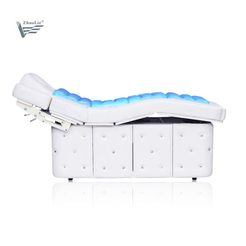 Groothandel schoonheidssalon Elektrische verwarmde water Massage tafel met opslag Doos (20D01)