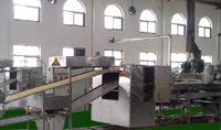 Máquinas de macarrão instantâneo frito/linha de produção de macarrão instantâneo