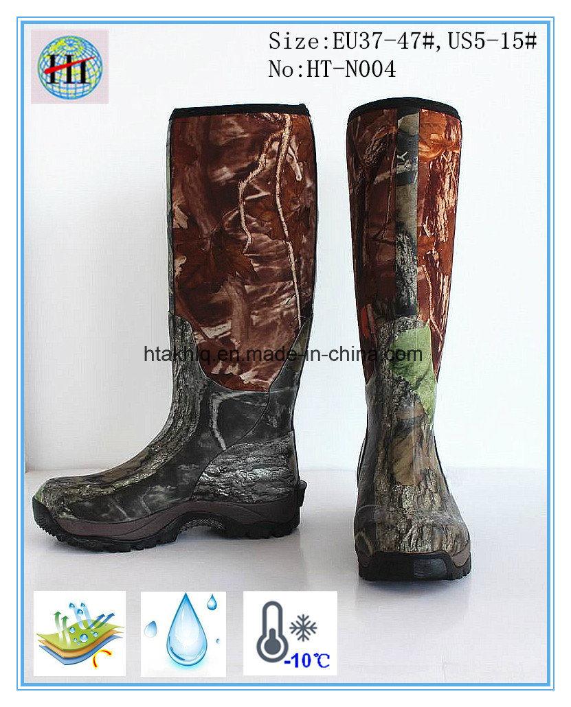 787f548c234 A estanqueidade Camo Caça botas de borracha
