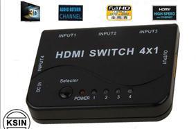 Interruptor do Comutador HDMI cabos HDMI 4*1 (KS--HS04)