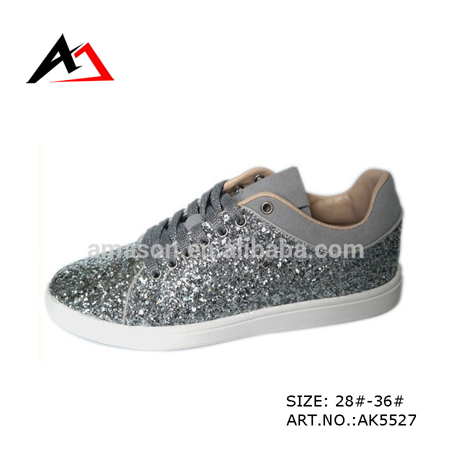 Ladies (AK5527)를 위한 스포츠 Walking Shoes Fashion Shiny Upper Young