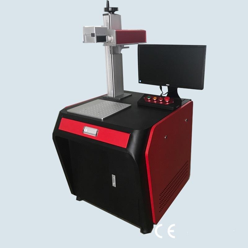 30W de la machine de gravure de marquage laser à fibre