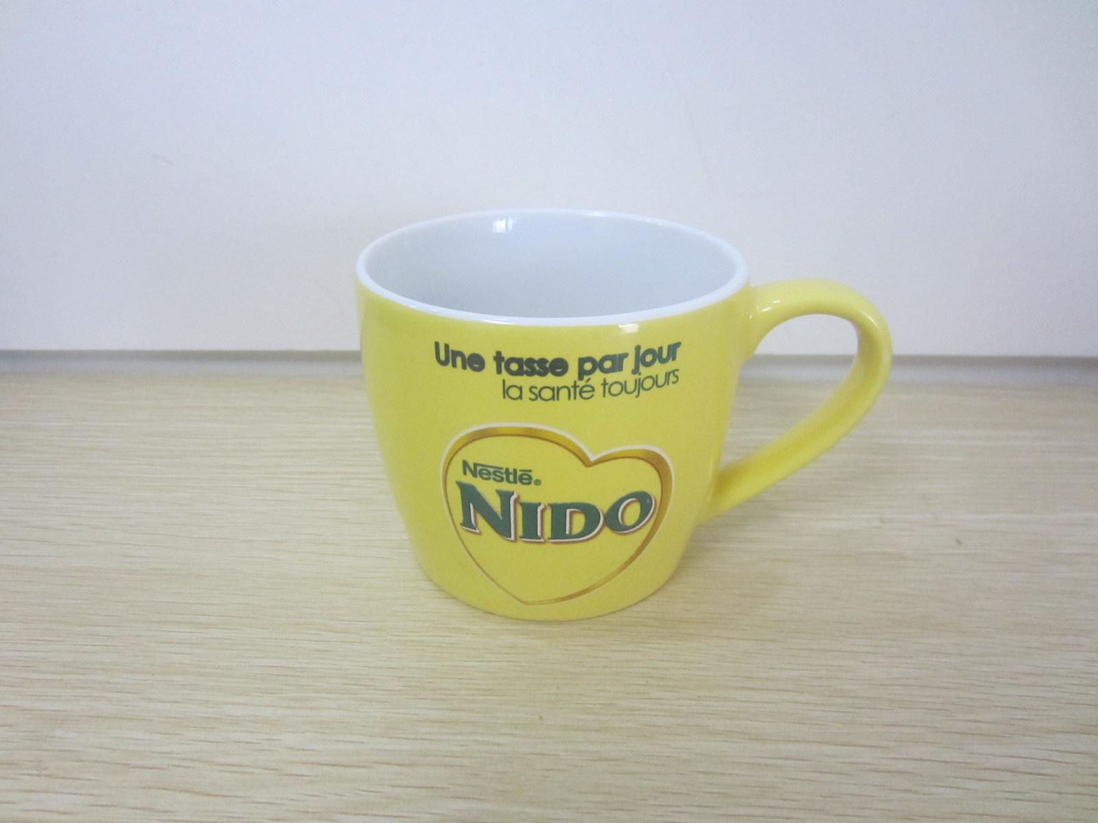 Impressão a Cores Personalizadas Promocional Copa do Café Espresso em cerâmica (WSY726M)