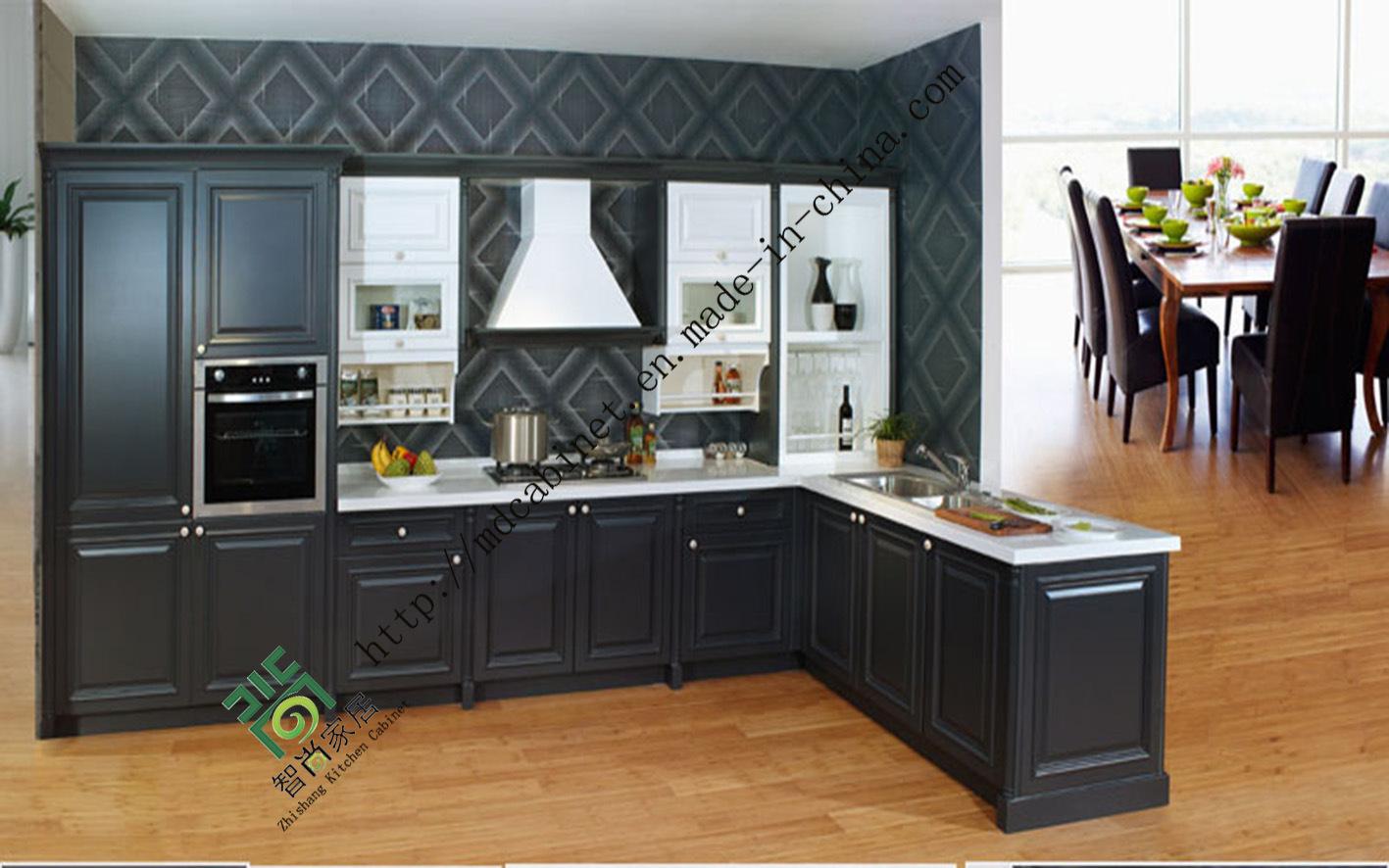 Armarios de cocina de PVC blanco (zs-383) – Armarios de cocina de ...