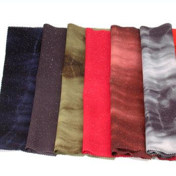 輝いたポリエステルか綿織物