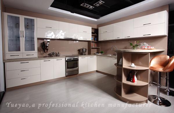 Moderno diseño de muebles de cocina Modular de acrílico (A001 ...