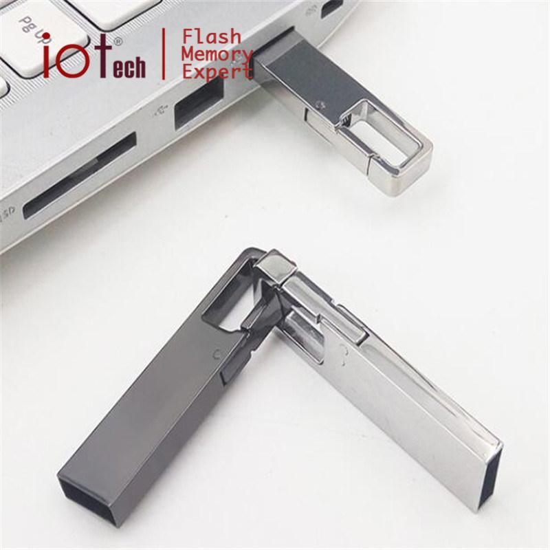Elegante Metal Mini USB Stick 8 GB de memoria Flash de 16GB