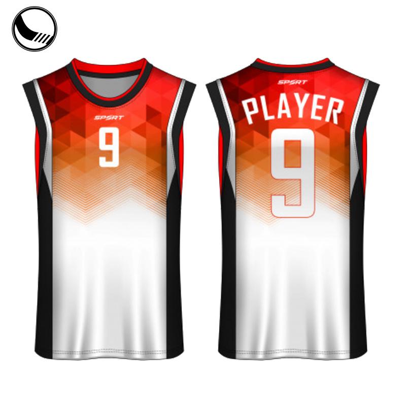Sport Wear International Basketball Uniforms Jersey Nero E Giallo
