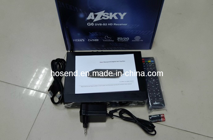 Ricevente di Azsky G6 HD per la televisione a pagamento