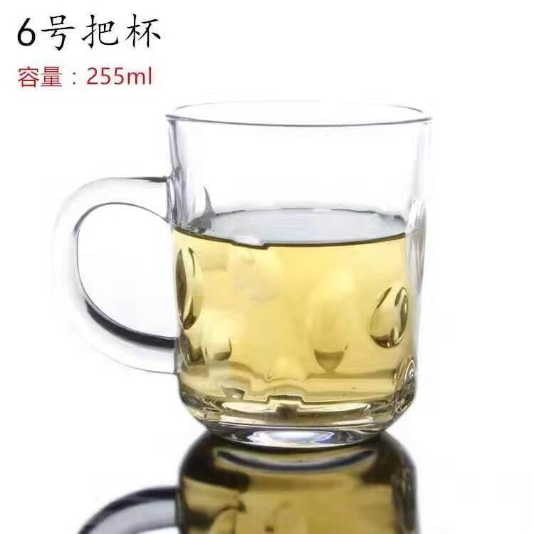 Copo de vidro de uma caneca de cerveja com bom preço utensílios Sdy-J00101