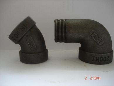 Formbares Eisen-Rohrfittings 300lb